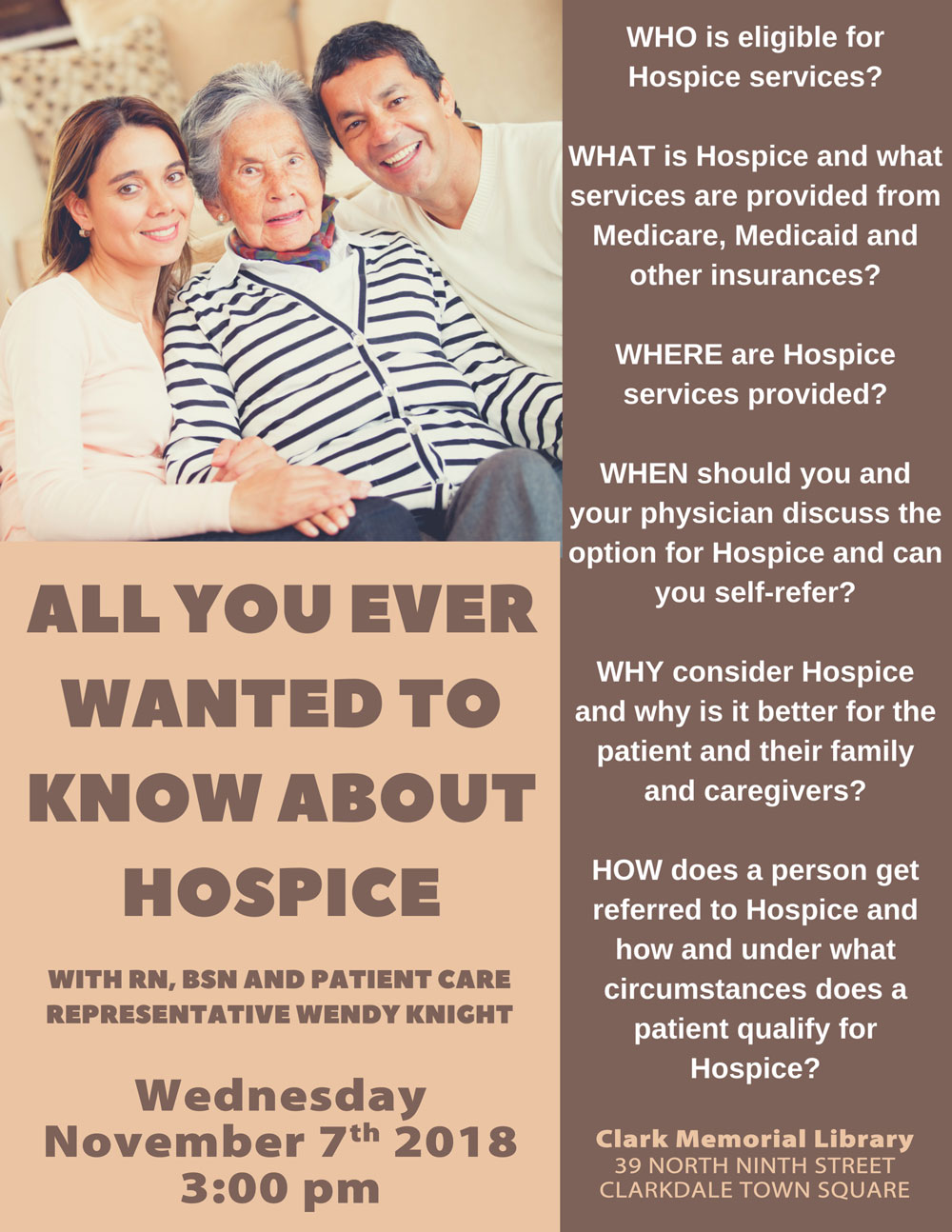 hospice poster
